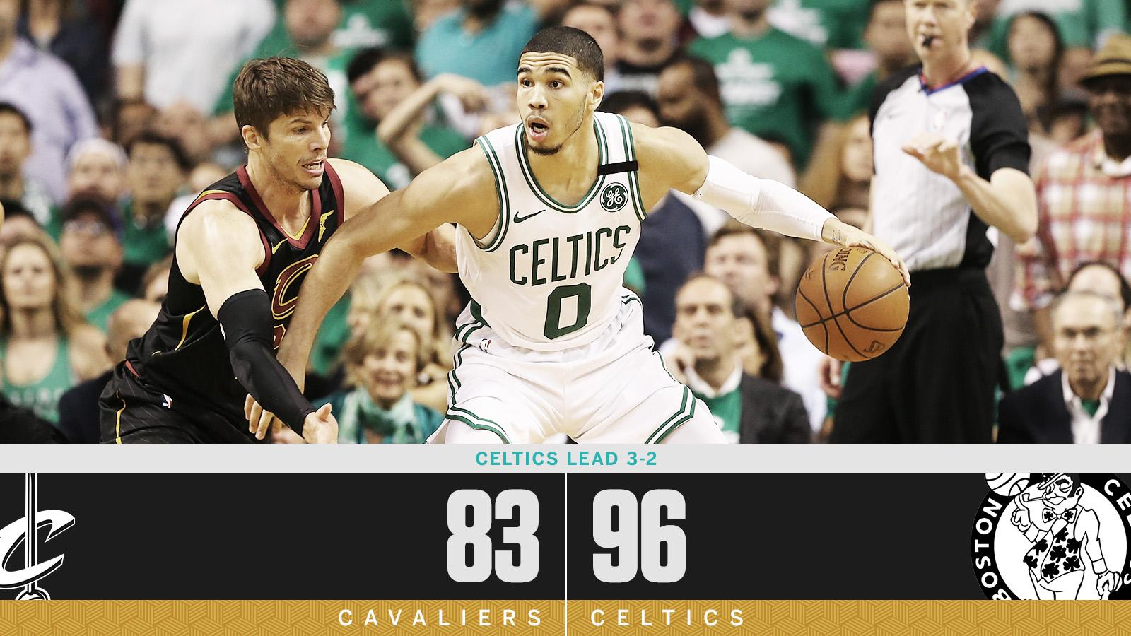 ONE WIN AWAY from the NBA Finals ☘️ https://t.co/2mINYo5L6R
