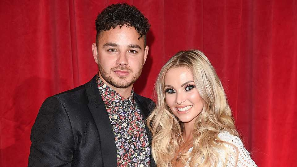 Emmerdale's Adam Thomas and his wife Caroline welcomed a baby girl into the world this