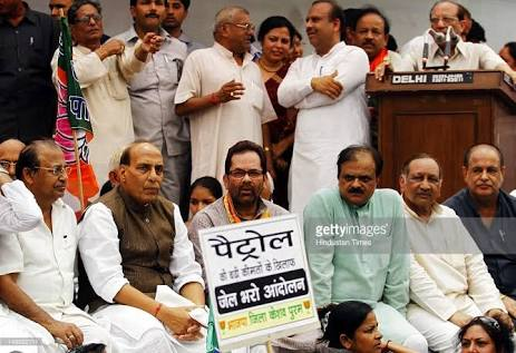 test Twitter Media - #FuelChallenge  Nostalgia....  Wonder where all these people are hiding ??  Also what happened to the Bollywood stars, Celebs, Influencers etc etc who rode bicycles & spoke out against price of fuel during the UPA regime ? https://t.co/S5mSQEJg7v