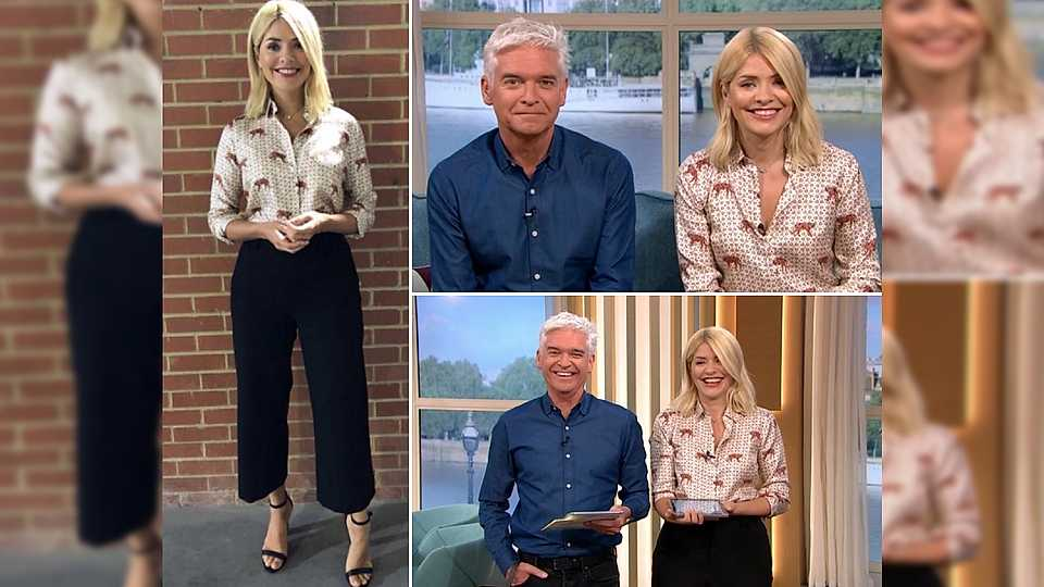 Here's EXACTLY what Holly Willoughby is wearing