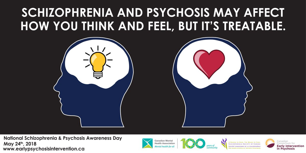test Twitter Media - Today is National Schizophrenia and Psychosis Awareness Day! Take time today to learn more about schizophrenia and psychosis, and gain a deeper understanding. #NSPAD18 #SupportSZ #CMHA100  https://t.co/nIDeR5Mkng https://t.co/orlhsaHtFi