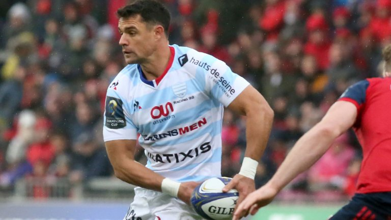 test Twitter Media - BREAKING: Racing 92's Dan Carter is OUT of the Champions Cup final against Leinster and has been replaced on the bench by Remi Tales... https://t.co/aky0uL4ZvJ