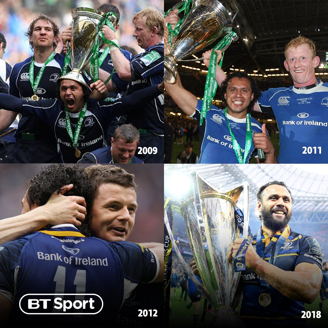 test Twitter Media - 2009 🏆 2011 🏆 2012 🏆 2018 🏆 Isa Nacewa - The one constant in Leinster's rise to the summit of European rugby 🙌 https://t.co/8wUzpBooiD