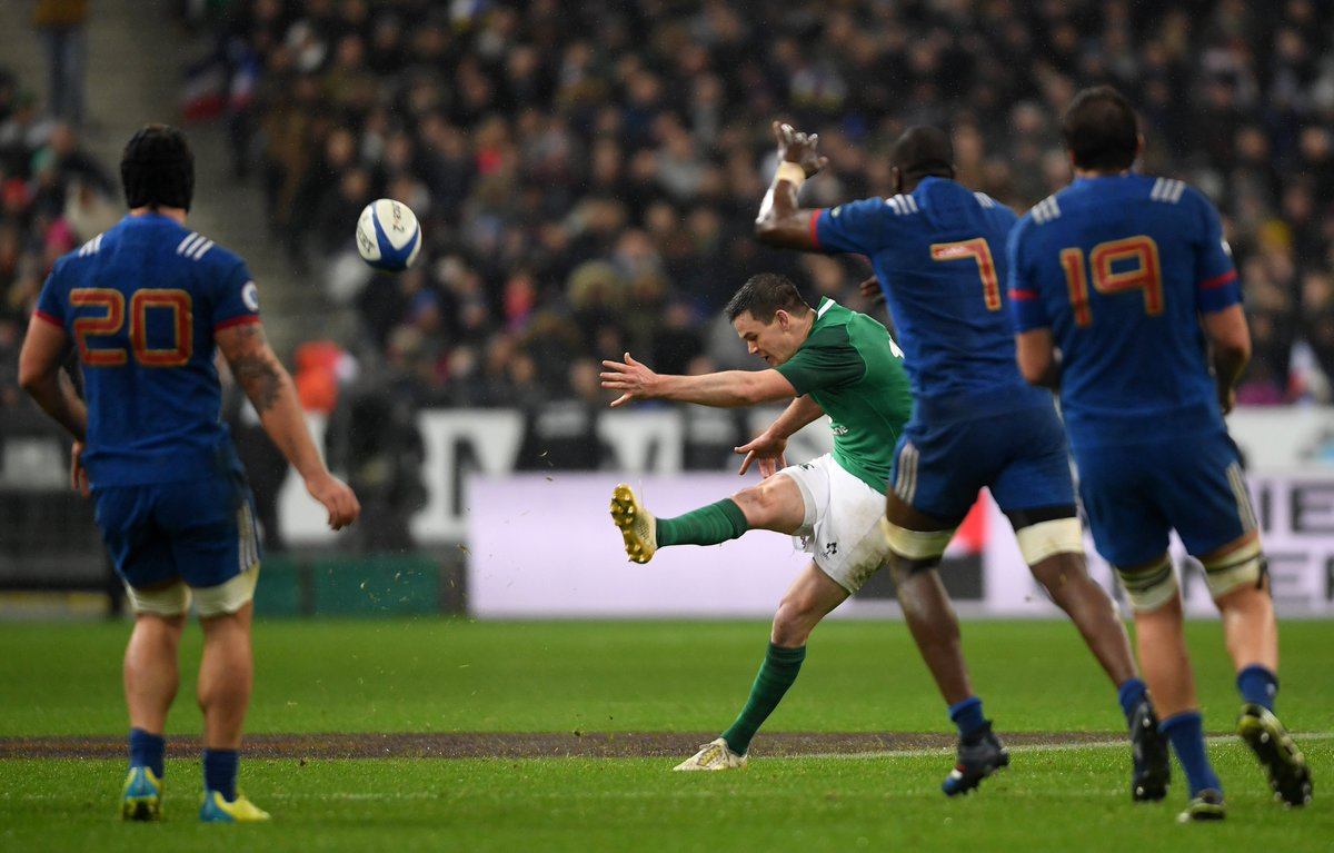 test Twitter Media - February 3rd, 2018: Johnny Sexton hits a last second drop goal in Paris. May 12th, 2018: Remi Tales misses a last second drop goal for a side from Paris. On both occasions... Irish eyes were smiling 🏆🇮🇪 https://t.co/BZovWs7QG1
