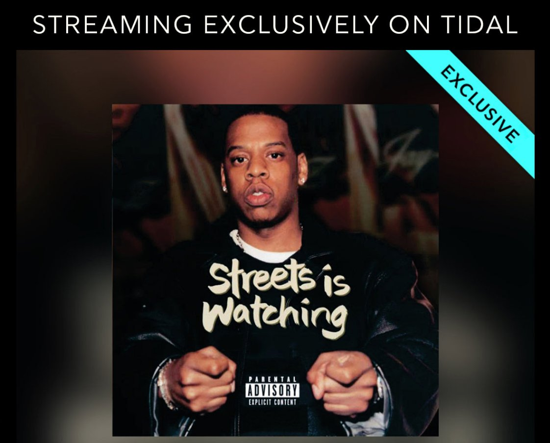 #StreetsIsWatching Movie https://t.co/noDZSbkXpr #TIDAL https://t.co/FBQWyJKti7