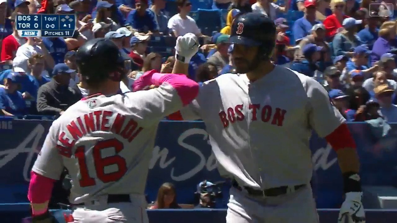 .@JDMartinez14 hit 5 HR in March/April. He already has 5 in May.  Just Dingers, indeed. https://t.co/qx8yKILHAZ
