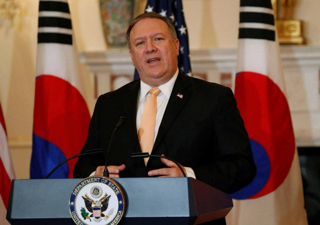Pompeo: U.S. firms may invest in North Korea if it meets demands