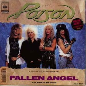 Happy birthday C.C. Deville of Poison - 56 today! Now playing Fallen Angel. Crank it up!