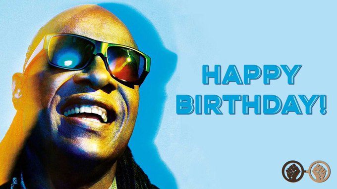 Happy birthday, Stevie Wonder! The legendary musician turns 68 today!