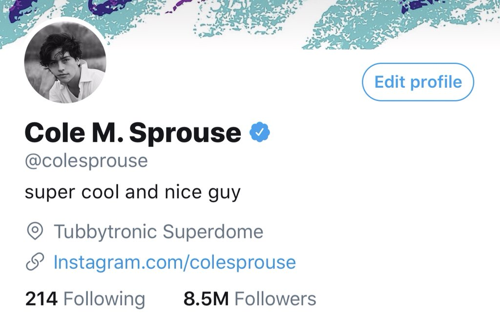 RT @colesprouse: @lilireinhart Sorry I didn't reply quicker, your notification got a little lost down the feed https://t.co/wMPHaq8qpJ