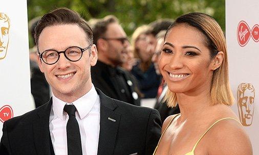 Former Strictly lovebirds Karen and Kevin Clifton attend the  BAFTATV Awards together: