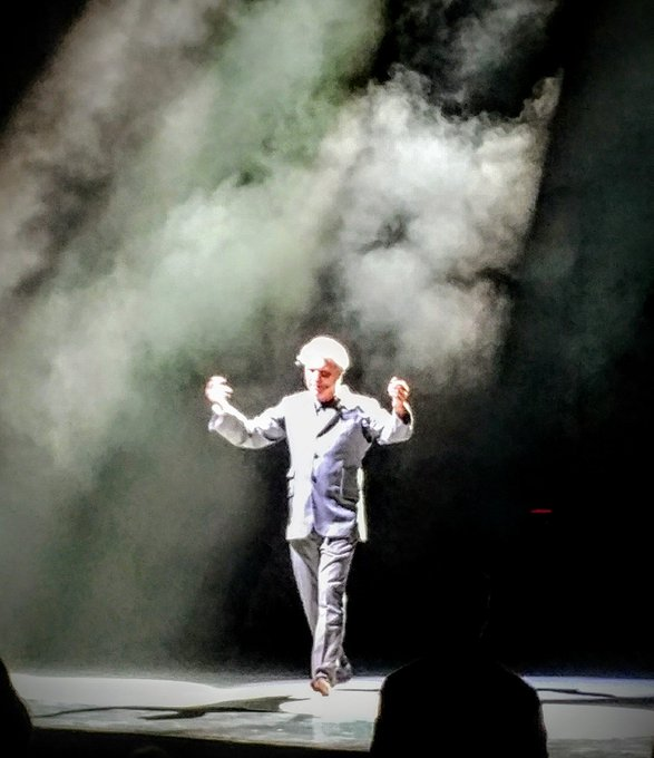 You may find yourself ... David Byrne so cool. Happy birthday DB!