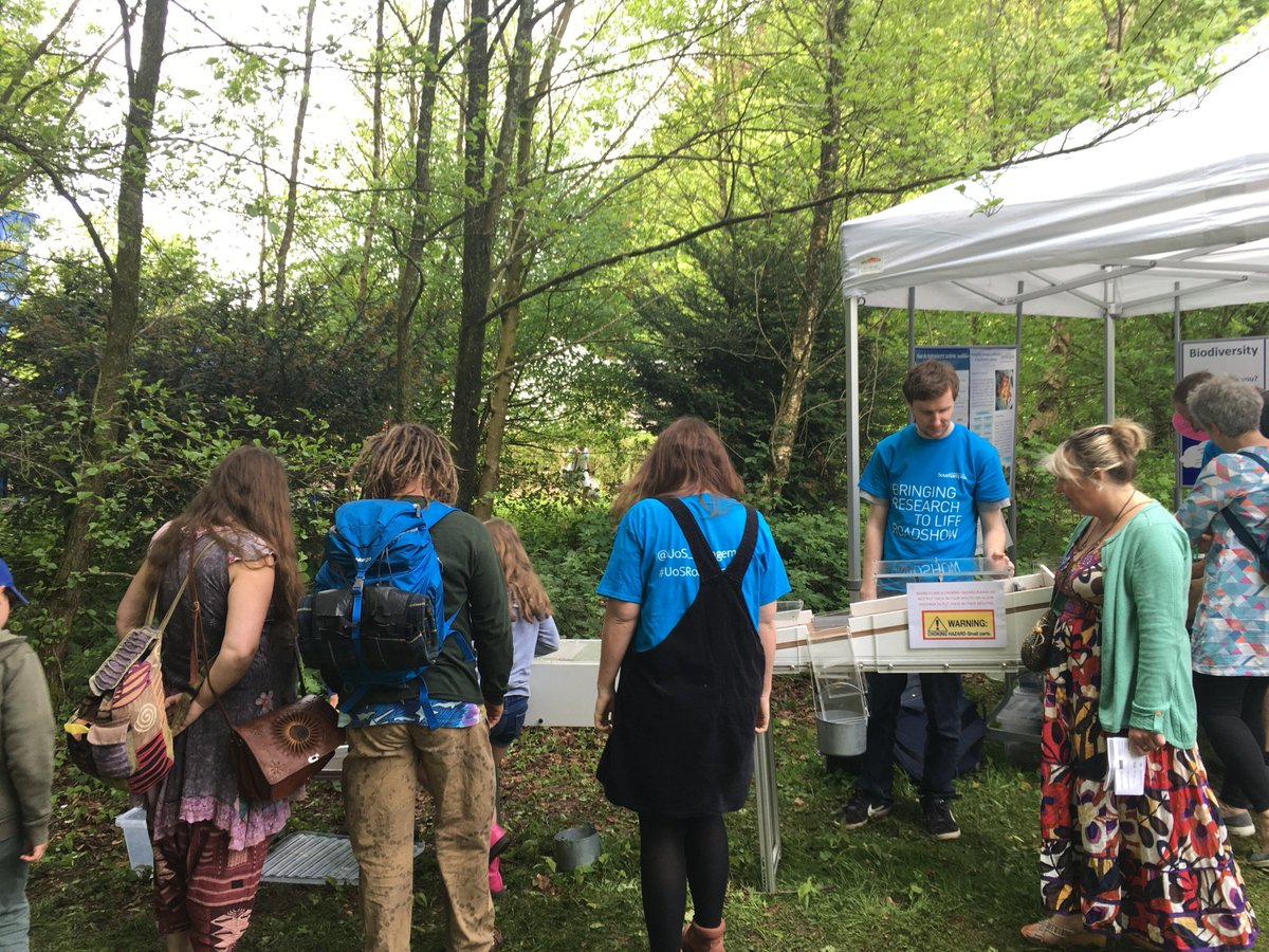 test Twitter Media - Researchers from ICER & @CDTSIS attended the @SusCentre South Downs Green Fair on 13th May with the @UoS_Engagement Roadshow. The research being exhibited by the team was ICER's research on fish passage, hydroelectric power & the reintroduction of the Eurasian Beaver to the UK! https://t.co/QIleNOBDzf