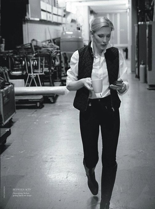 Happy birthday Cate Blanchett! I m still waiting for your version of the Han Solo story!