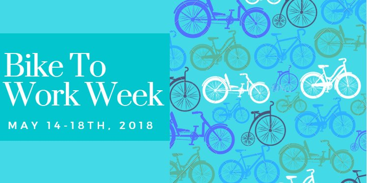 #biketoworkweek