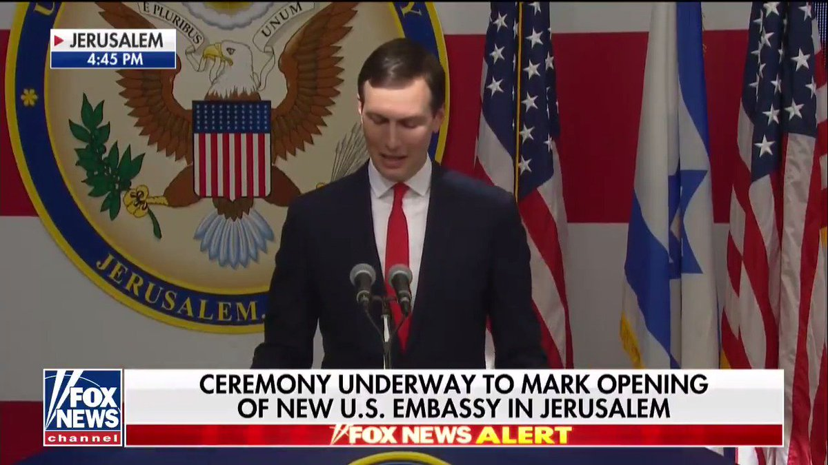 """RT @FoxNews: Jared Kushner: """"When President Trump makes a promise, he keeps it."""" https://t.co/VoMTeuYXHK"""