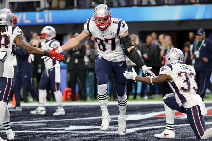 Happy 29th Birthday to one of NFL\s finest Rob Gronkowski
