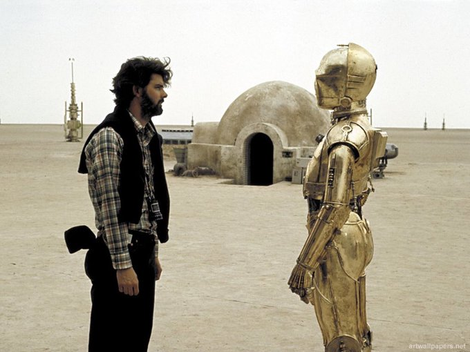 Thank the Maker! Happy Birthday George Lucas!