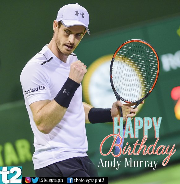 Happy birthday andy_murray! We hope to see you back on court soon.