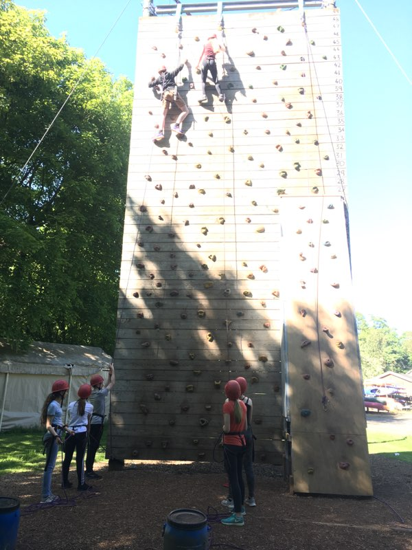 test Twitter Media - Y9 Glasbury students are already climbing the walls..... https://t.co/q0IhbUOrbf