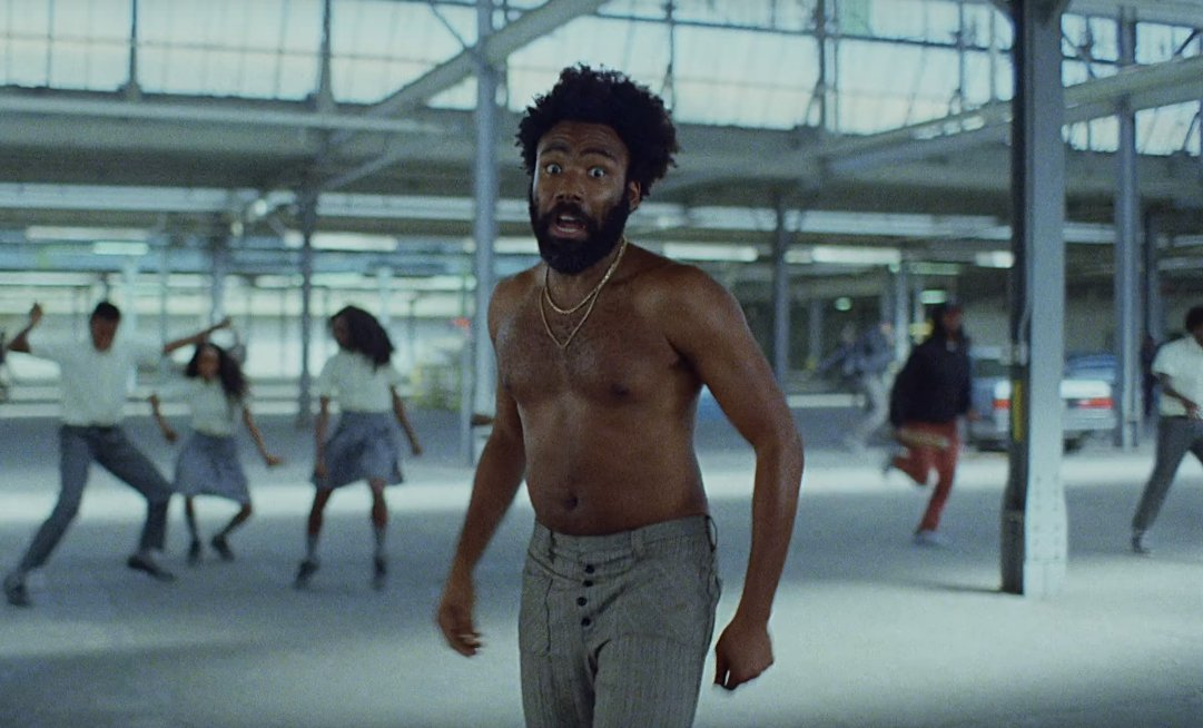 """Childish Gambino's """"This Is America"""" debuts at No. 1 on the Hot 100. https://t.co/oVryYCD3ql https://t.co/6csjsvys2D"""