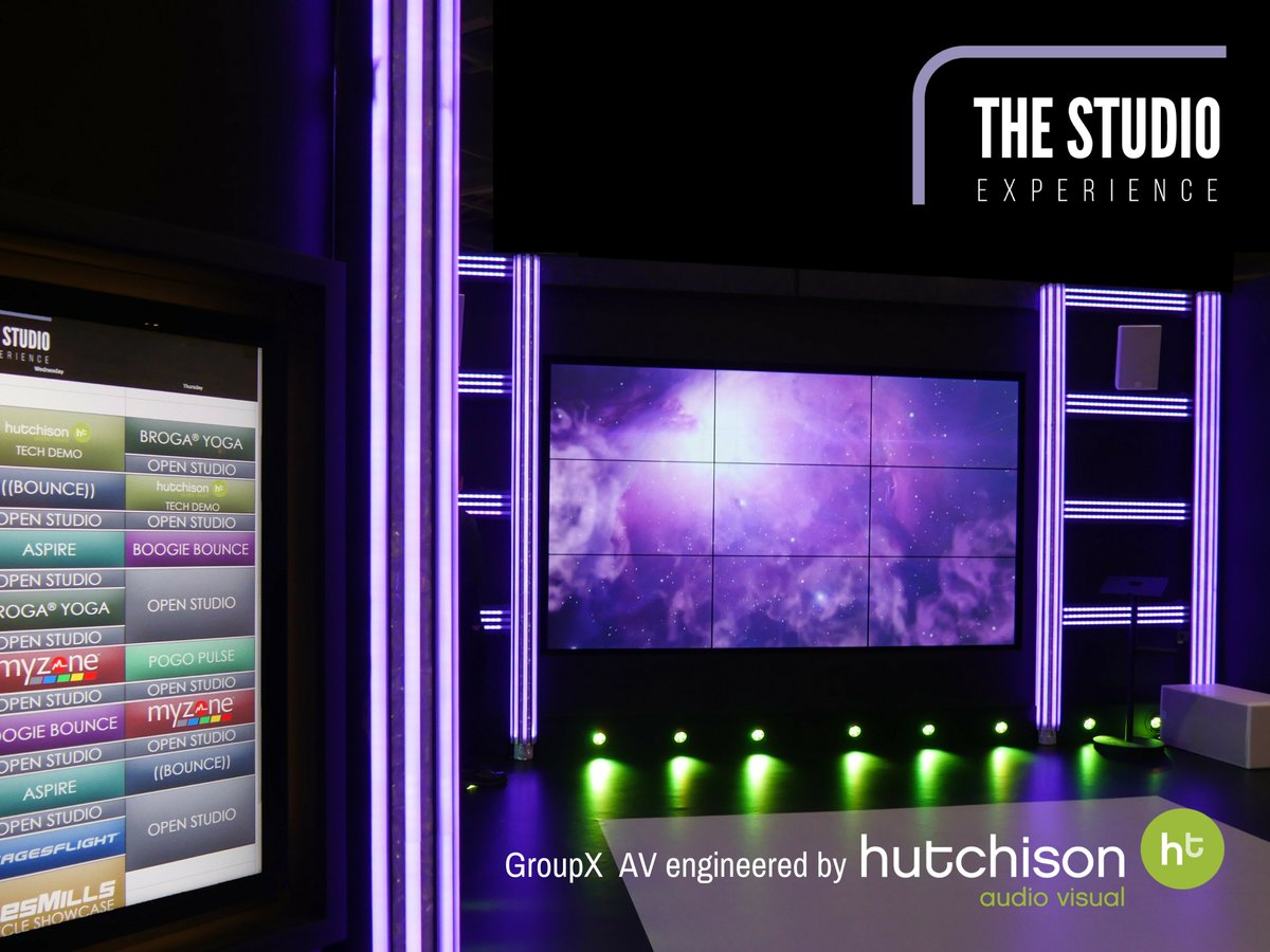 Image for #TheStudioExperience at @elevatearena was an amazing chance to show off our pro AV, lighting, & control solutions. Look out for our demo partner best bits to see how our flexible tech adapts to create relevant & motivational fitness experiences wh