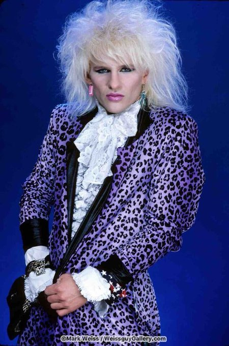 HAPPY BIRTHDAY C.C.!! May 14th, 1962  C.C. Deville of Poison 1986© Mark Weiss