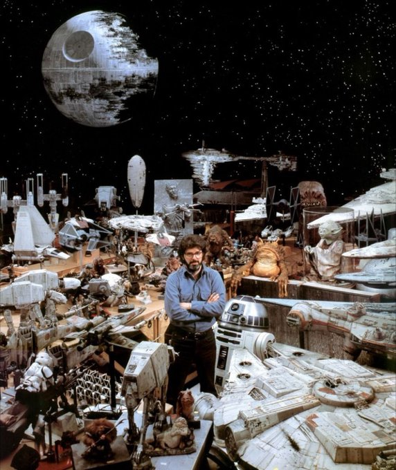 Happy 74th birthday, George Lucas!