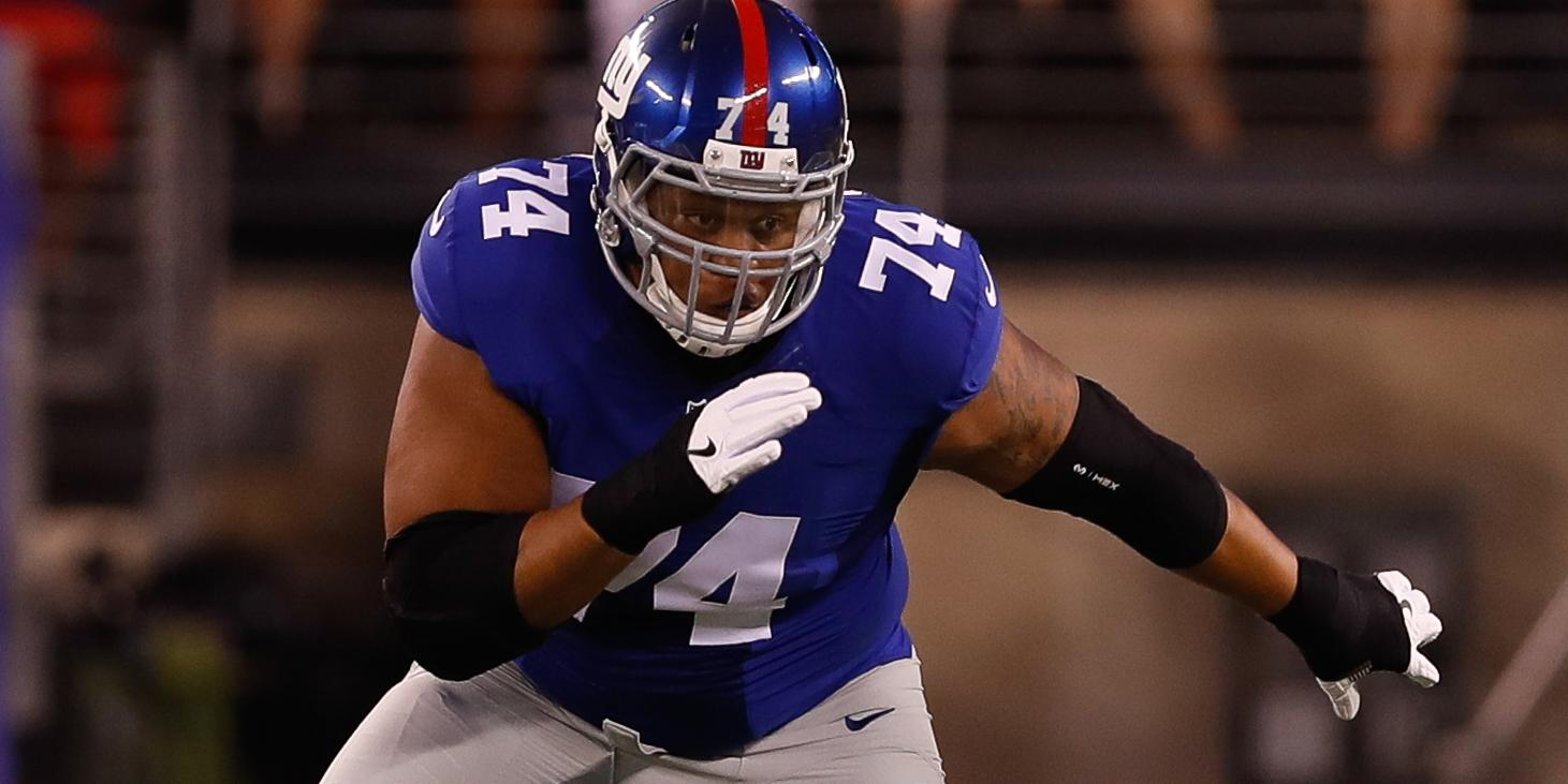 Ereck Flowers reports to @Giants training facility: https://t.co/XpdXJFjWh0 https://t.co/smExPDHJ1U