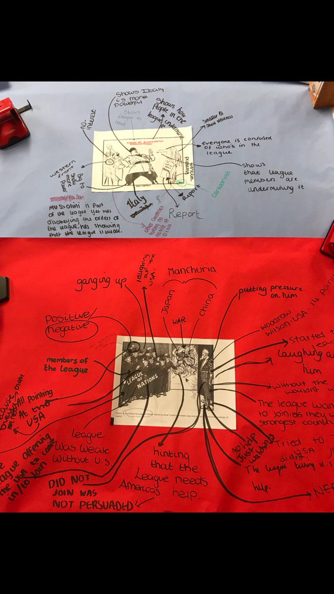 test Twitter Media - Year 9s have been getting to grips with GCSE History source analysis and evaluation. Brilliant group work! RS/KRS https://t.co/E88T2EMcVM