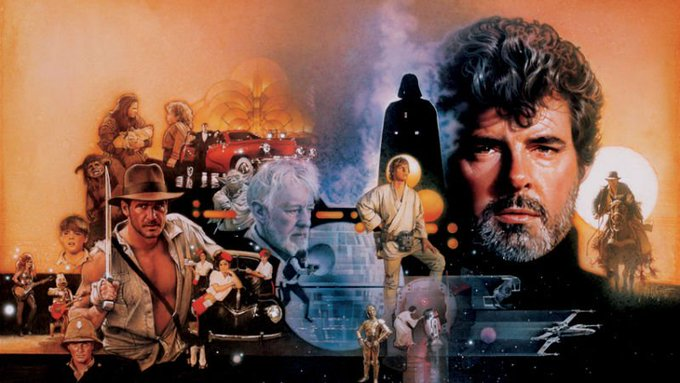 Happy 74th Birthday to George Lucas!