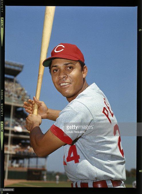Happy birthday Tony Perez(born 14.5.1942)