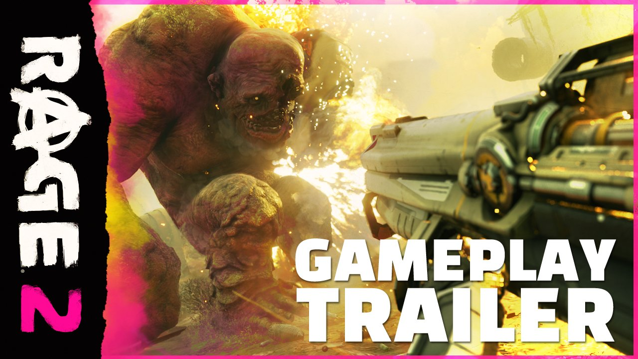 No more waiting... RAGE is back and the gameplay reveal for #RAGE2 is here! https://t.co/Dp55j5ljdq