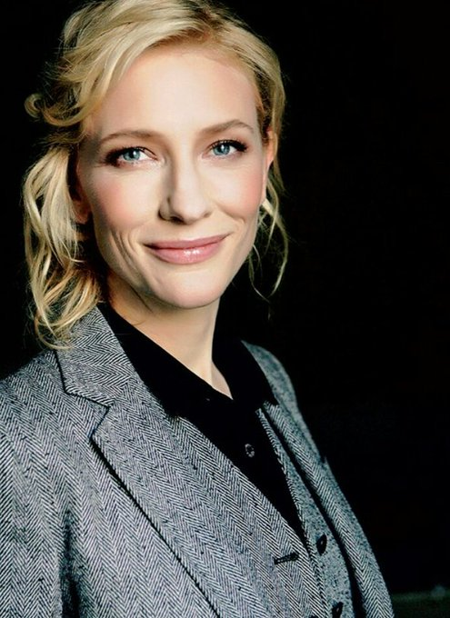 A happy birthday to Cate Blanchett, this beautiful woman, talented beyond measure
