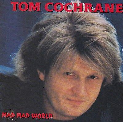 Happy 65th birthday to Tom Cochrane today!