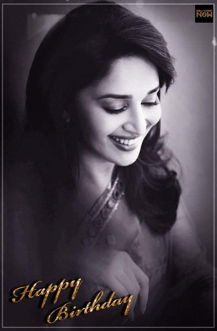 A very Happy Birthday to the dancing queen of bollywood Madhuri Dixit - Nene!