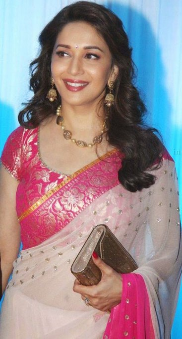 Happy Birthday to the very beautiful- gorgeous-talented Actress Madhuri Dixit.