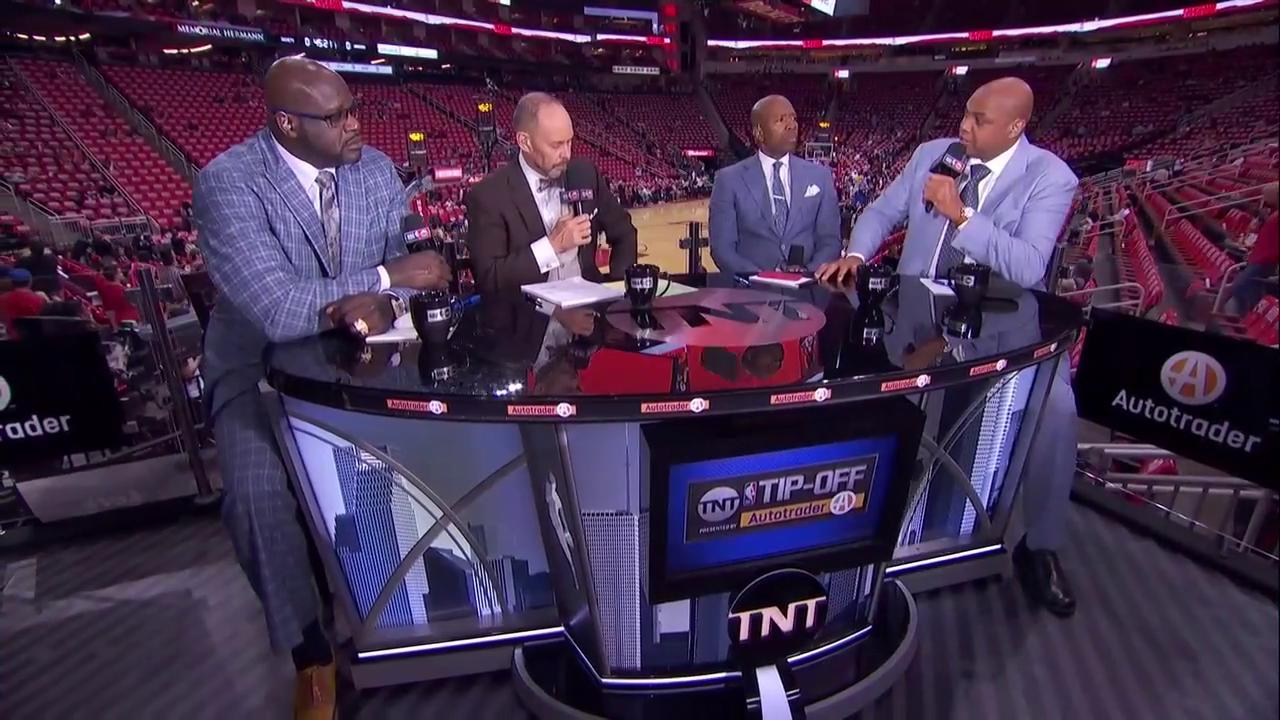 'You can't assume playing at home is going to be the difference. You've got to play.'  Chuck on @HoustonRockets https://t.co/QCd4bKJsyu