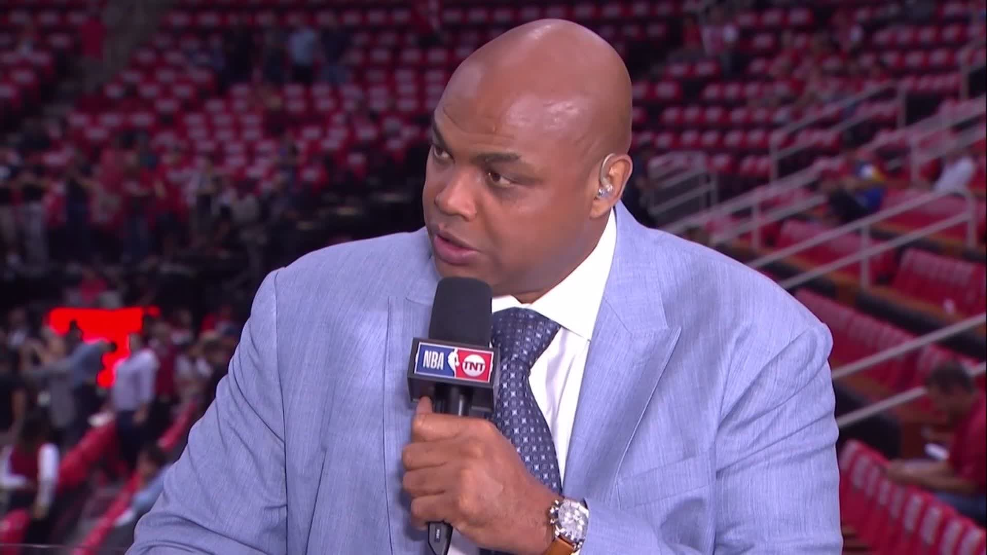 'This is a must win for the Rockets from a psychological standpoint.' - Chuck on Game 1 https://t.co/VlpIXvzF8b