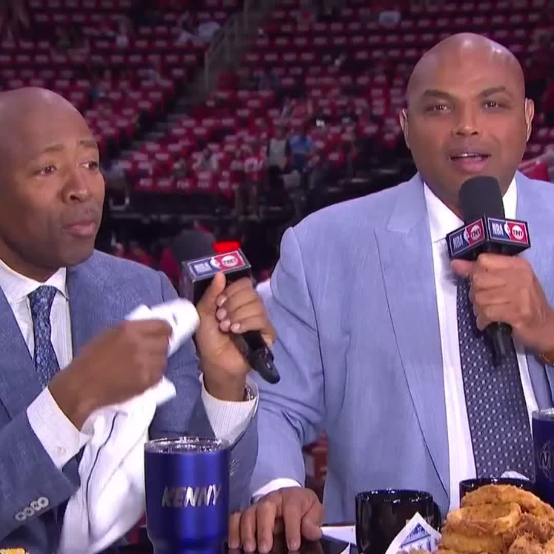 'You said you ain't worried... You better get damn worried.'  Chuck has a message for LeBron �� https://t.co/CbPKusd2sN