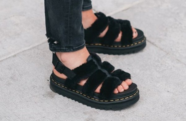 Dr. Martens sells fluffy sandals now, and yes, they're awesome. https://t.co/0Y1tpSBur0 https://t.co/xGt8mKPGb4