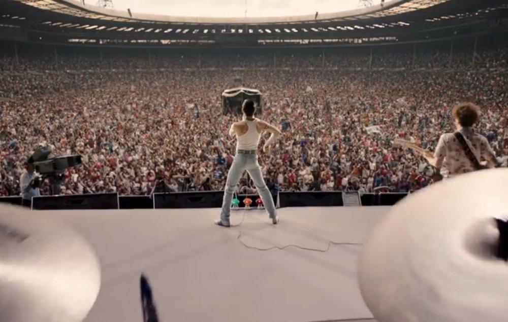 Here's the first footage from Queen's 'Bohemian Rhapsody' biopic https://t.co/OcdV1Kml8m https://t.co/DjA6F4DkJa