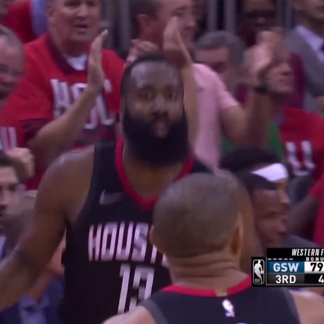 Harden & Steph exchanging buckets!   #NBAPlayoffs https://t.co/1smgU8B96S