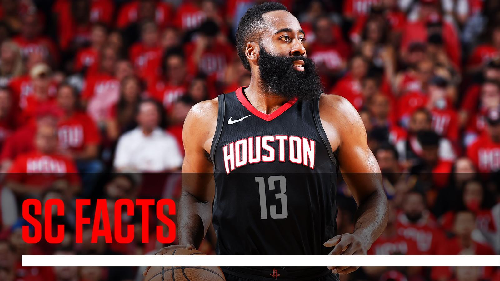 James Harden is the 1st player in NBA history to score 40+ in three straight Game 1s to open a postseason. #SCFacts https://t.co/R3Fq2GuCmm