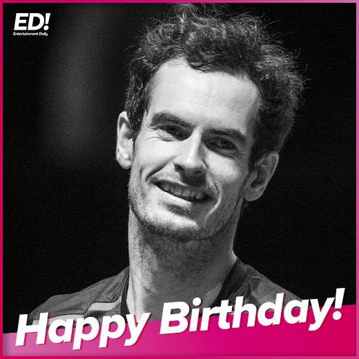 Happy Birthday Andy Murray!