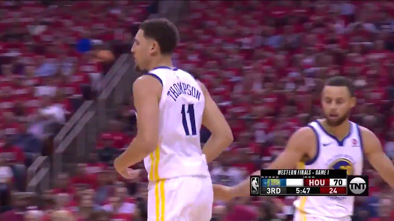 .@KlayThompson splashed his way to 28 PTS & the @warriors win in Game 1 ��  #NBAPlayoffs | #DubNation https://t.co/U1PNSav9fG
