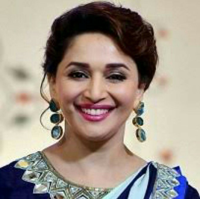 Many many happy returns of the day happy birthday MADHURI DIXIT