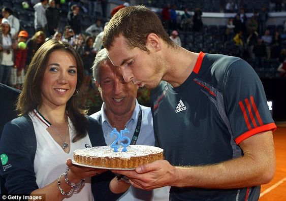 Happy Birthday, Andy Murray. May the coming year be a wonderful one for you.