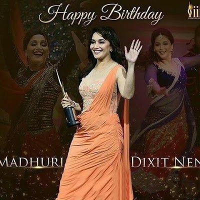 Happy Birthday Madhuri Dixit 51st Birthday 15 May2018
