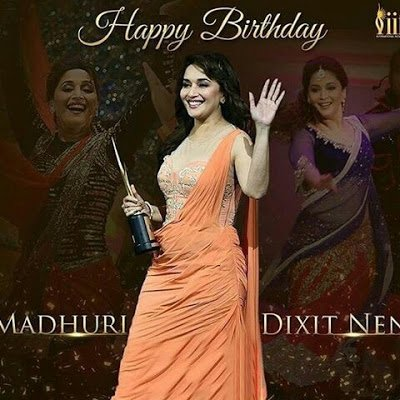 Happy Birthday Madhuri Dixit 51st Birthday 15 May 2018